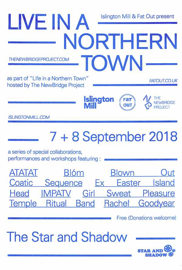 Picture for event LIVE in a Northern Town (Blown Out, Girl Sweat PTRB, Blóm, Rachel Goodyear + more)