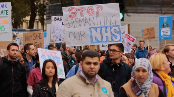 Picture for event Under the Knife.  A Film About the Privatisation of the NHS.