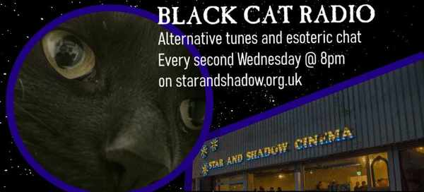 Picture for event Black Cat Radio - Fortnightly Goth Music Show