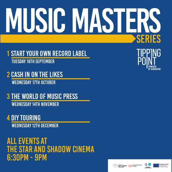 Picture for event Music Master Class - Cash In On The Likes