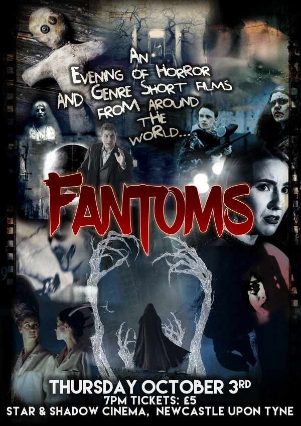 Picture for event Fantoms: An Evening of Short Horror and Genre Films from around the World